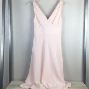 J Crew Blush Pink Silk Dress